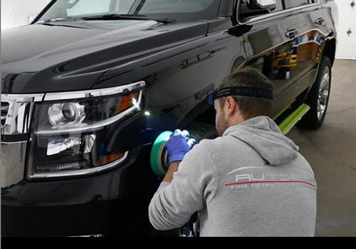 Buffing SUV paint | Autobuf Fine Detailing & Restyling