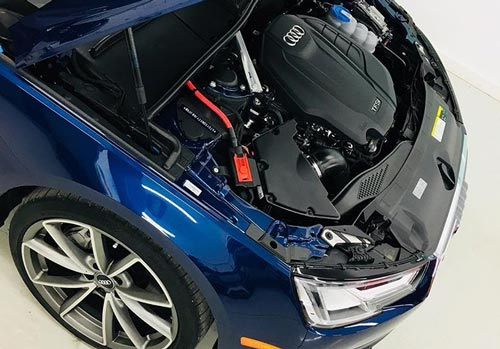 Detailed Audi Engine Bay | Autobuf Fine Detailing & Restyling