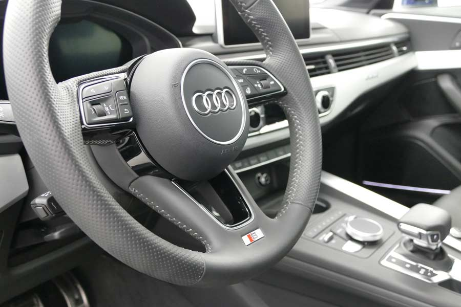 Audi Steering Wheel | Autobuf Fine Detailing & Restyling