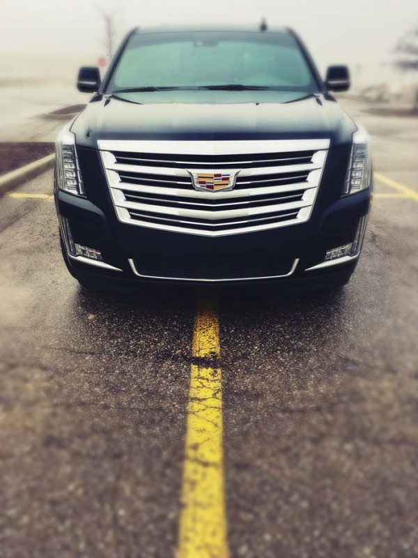 Cadillac chrome grill | Autobuf Fine Detailing & Restyling
