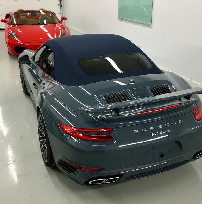 Blue Porsche & Red Ferrari | Autobuf Fine Detailing & Restyling