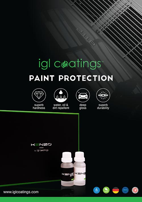 Ceramic coating by IGL Coatings | Autobuf Fine Detailing & Restyling