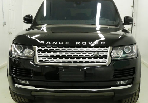 Paint protection film on Range Rover | Auto Detailing Services | Autobuf Fine Detailing & Restyling