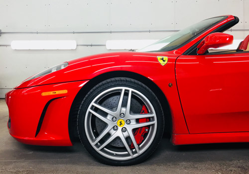 Red Ferrari Paint Correction | Autobuf Fine Detailing & Restyling