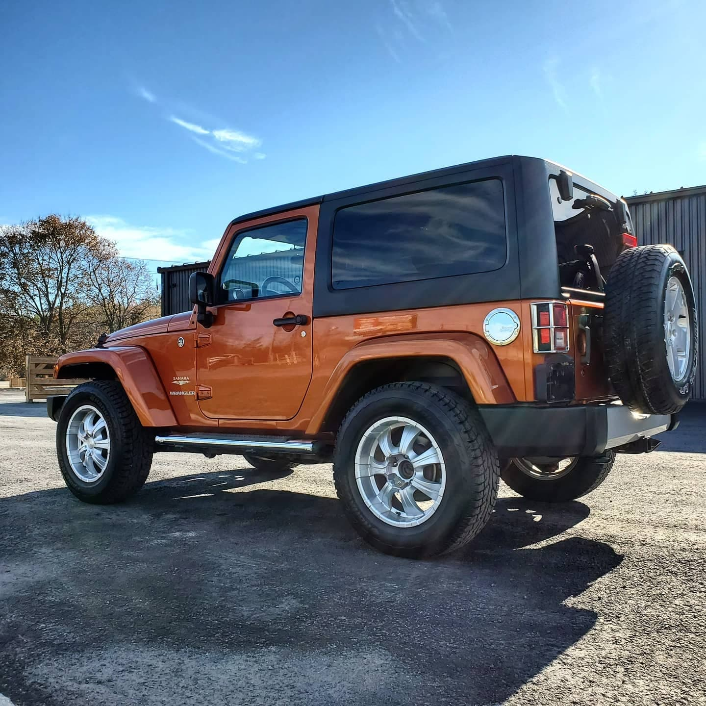 Orange Jeep   Autobuf fine car detailing and restyling in Kingston