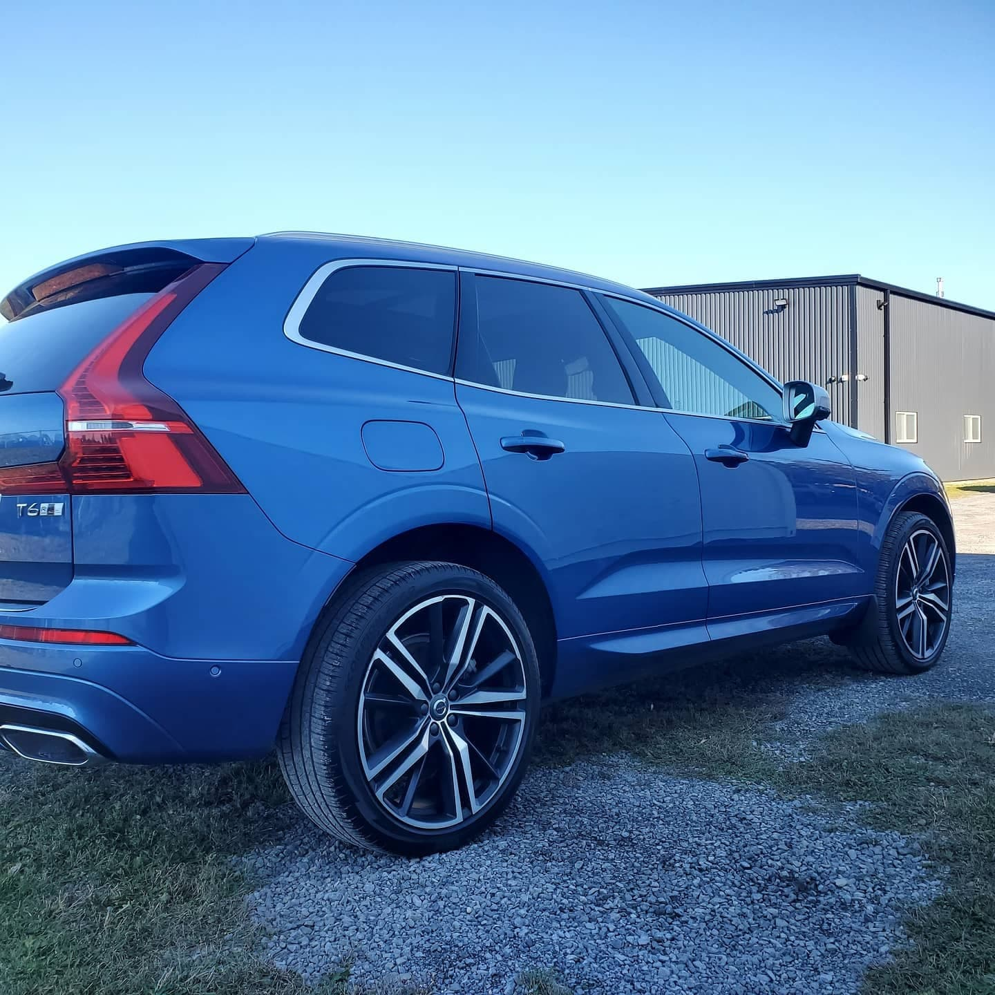 Blue SUV done at Autbuf fine car detailing and restyling in Kingston, Ontario