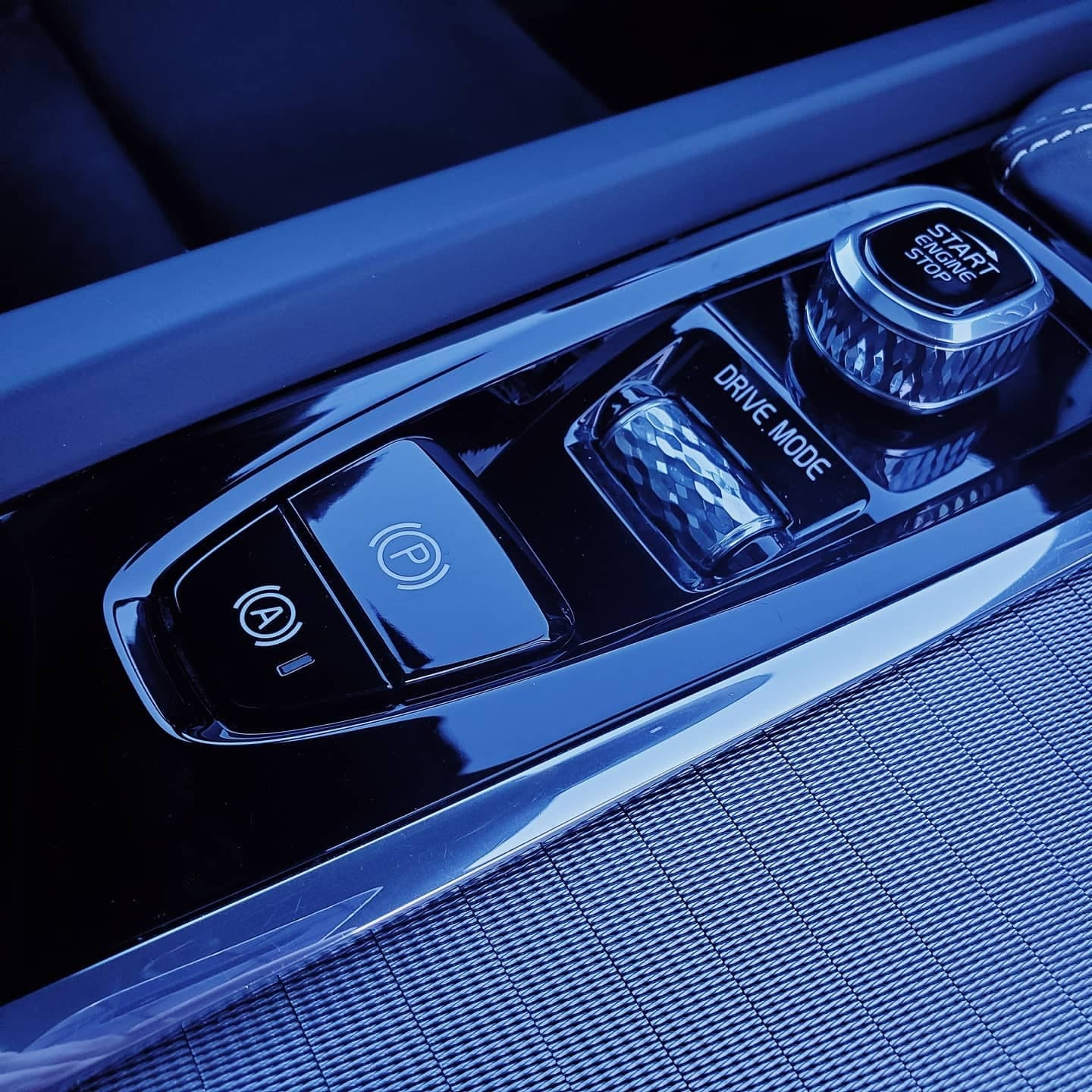 Controls in a car done by Autobuf fine car detailing and restyling in Kingston, Ontario