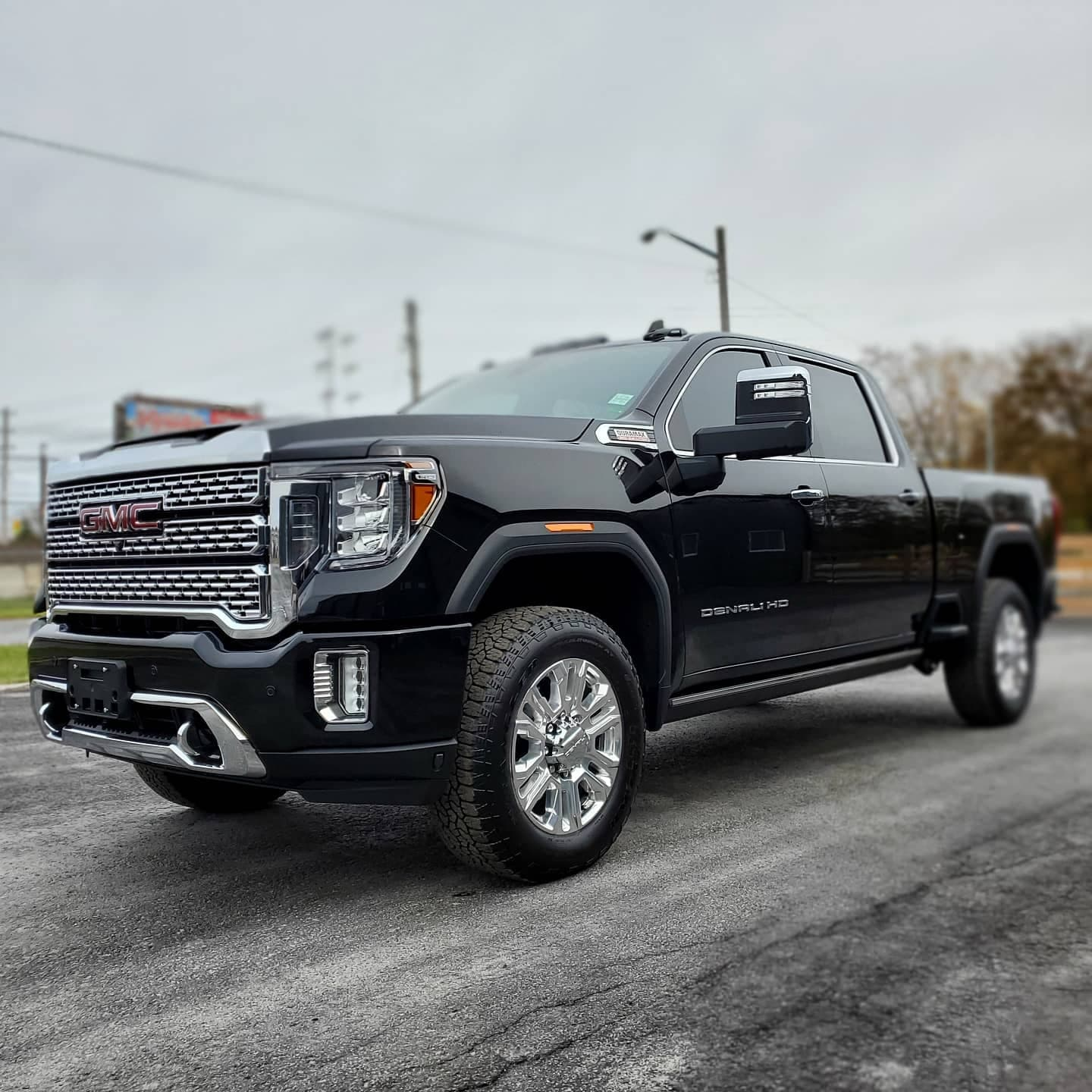 Black GMC truck at Autobuf fine car detailing and restyling in Kingston, Ontario