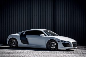 Audi showing paint protection film at autobuf fine car detailing and restyling in Kingsotn, Ontario